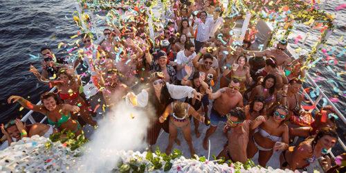 party in barca eventi escursioni zante